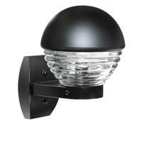 3061 Series 1 Light 12 inch Black Outdoor Sconce, Costaluz