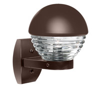 3061 Series 1 Light 12 inch Bronze Outdoor Sconce, Costaluz
