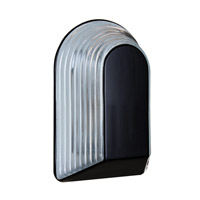 3062 Series 1 Light 10 inch Black Outdoor Sconce, Costaluz