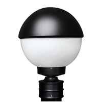 3078 Series 1 Light 13 inch Black Outdoor Post Mount, Costaluz