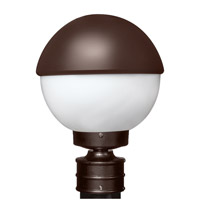 3078 Series 1 Light 13 inch Bronze Outdoor Post Mount, Costaluz