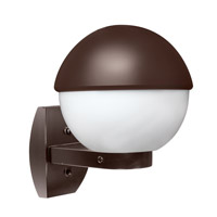 3078 Series 1 Light 12 inch Bronze Outdoor Sconce, Costaluz