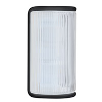 Besa Lighting 307957-FR 3079 Series 1 Light 10 inch Black Outdoor Sconce Costaluz