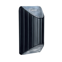 3083 Series 1 Light 11 inch Black Outdoor Sconce, Costaluz