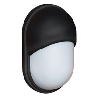 Costaluz 3091 Series 1 Light 11 inch Black Outdoor Sconce