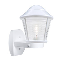 3100 Series 1 Light 12 inch White Outdoor Sconce, Costaluz