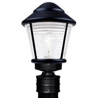 Besa Lighting 310057-POST-FR 3100 Series 1 Light 14 inch Black Outdoor Post Mount Costaluz