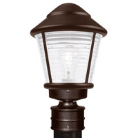 3100 Series 1 Light 14 inch Bronze Outdoor Post Mount, Costaluz