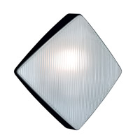 Besa Lighting 311057-FR 3110 Series 1 Light 11 inch Black Outdoor Sconce Costaluz