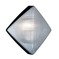 3110 Series 1 Light 11 inch Black Outdoor Sconce, Costaluz