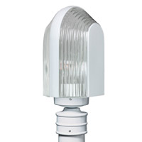 3139 Series 1 Light 14 inch White Outdoor Post Mount, Costaluz