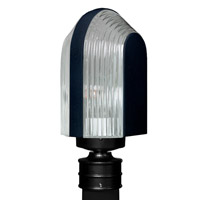 3139 Series 1 Light 14 inch Black Outdoor Post Mount, Costaluz