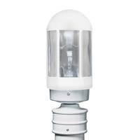3151 Series 1 Light 13 inch White Outdoor Post Mount, Costaluz