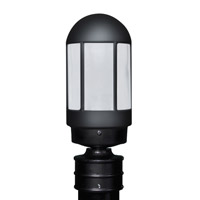Besa Lighting 315157-POST-FR 3151 Series 1 Light 13 inch Black Outdoor Post Mount Costaluz