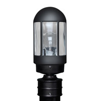 3151 Series 1 Light 13 inch Black Outdoor Post Mount, Costaluz