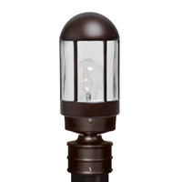 3151 Series 1 Light 13 inch Bronze Outdoor Post Mount, Costaluz