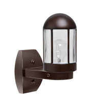3151 Series 1 Light 12 inch Bronze Outdoor Sconce, Costaluz