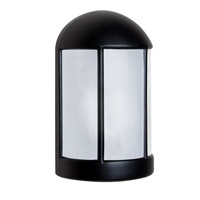 Besa Lighting 315257-FR 3152 Series 1 Light 9 inch Black Outdoor Sconce Costaluz