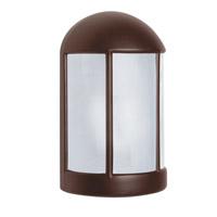 Besa Lighting 315298-FR 3152 Series 1 Light 9 inch Bronze Outdoor Sconce Costaluz