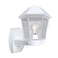 3272 Series 1 Light 12 inch White Outdoor Sconce, Costaluz