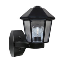 3272 Series 1 Light 12 inch Black Outdoor Sconce, Costaluz