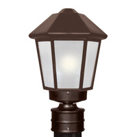 3272 Series 1 Light 14 inch Bronze Outdoor Post Mount, Costaluz