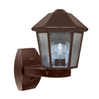 3272 Series 1 Light 12 inch Bronze Outdoor Sconce, Costaluz