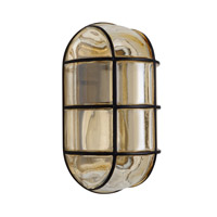 3961 Series 1 Light 10 inch Black Outdoor Sconce, Costaluz