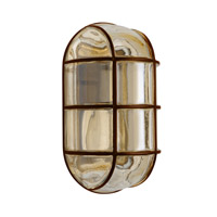 3961 Series 1 Light 10 inch Bronze Outdoor Sconce, Costaluz