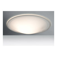Besa Lighting 3CS-909739 Luma Slim 18 3 Light 18 inch Flush Mount Ceiling Light in Incandescent