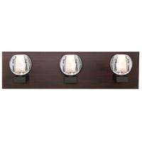 Besa Lighting 3WF-BOCABB-LED-BR Boca LED Bronze Vanity Light Wall Light
