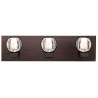 Besa Lighting 3WF-BOCACL-LED-BR Boca LED Bronze Vanity Light Wall Light