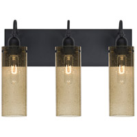 Besa Lighting Juni 10 3 Light Vanity in Black 3WG-JUNI10LT-BK