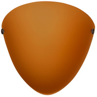 Besa Lighting 701780-BR Kailee 1 Light 10 inch Bronze ADA Wall Sconce Wall Light in Incandescent Amber Matte Glass