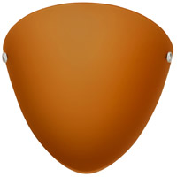 Besa Lighting 701780-LED-PN Kailee LED 10 inch Polished Nickel ADA Wall Sconce Wall Light in Amber Matte Glass