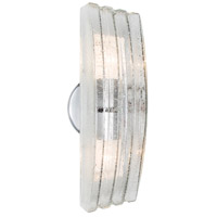 Besa Lighting 785550-SL Sail 2 Light 13 inch Silver Outdoor Sconce