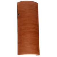 Besa Lighting 8192CH-LED-BR Torre 14 LED 6 inch Bronze ADA Wall Sconce Wall Light in Cherry Glass