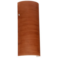 Besa Lighting 8192CH-PN Torre 14 1 Light 6 inch Polished Nickel ADA Wall Sconce Wall Light in Incandescent Cherry Glass