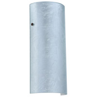 Besa Lighting 8192SF-LED-BR Torre 14 LED 6 inch Bronze ADA Wall Sconce Wall Light in Silver Foil Glass