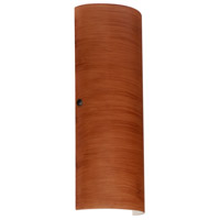 Besa Lighting 8193CH-LED-BR Torre 18 LED 7 inch Bronze ADA Wall Sconce Wall Light in Cherry Glass