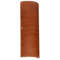 Besa Lighting 8193CH-LED-PN Torre 18 LED 7 inch Polished Nickel ADA Wall Sconce Wall Light in Cherry Glass