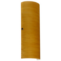 Besa Lighting 8193OK-LED-BR Torre 18 LED 7 inch Bronze ADA Wall Sconce Wall Light in Oak Glass