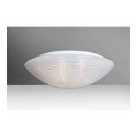 Glitter 3 Light 15 inch Flush Mount Ceiling Light in Incandescent