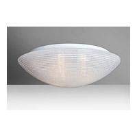 Glitter 3 Light 18 inch Flush Mount Ceiling Light in Incandescent