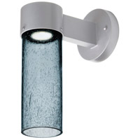 Besa Lighting JUNI10BL-WALL-LED-SL Juni 10 LED 12 inch Silver Outdoor Sconce