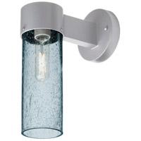 Besa Lighting JUNI10BL-WALL-SL Juni 10 1 Light 12 inch Silver Outdoor Sconce
