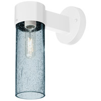 Besa Lighting JUNI10BL-WALL-WH Juni 10 1 Light 12 inch White Outdoor Sconce