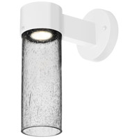 Besa Lighting JUNI10CL-WALL-LED-WH Juni 10 LED 12 inch White Outdoor Sconce