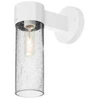 Besa Lighting JUNI10CL-WALL-WH Juni 10 1 Light 12 inch White Outdoor Sconce