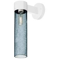 Besa Lighting JUNI16BL-WALL-WH Juni 16 1 Light 18 inch White Outdoor Sconce